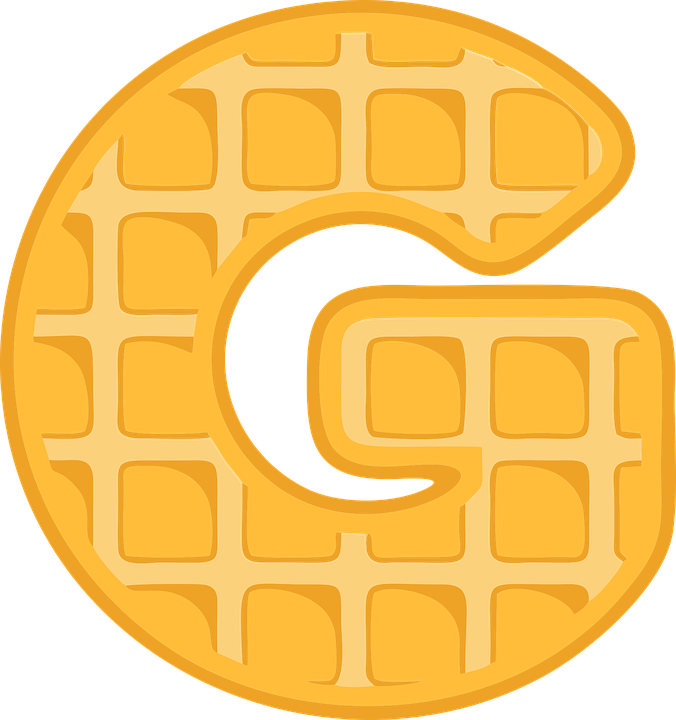 G, Alphabet, Waffle, Letter, Typography, Text, Font