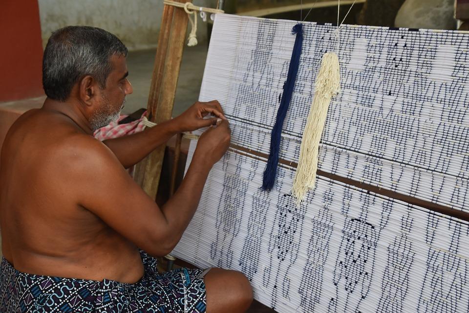 Handloom, Weaving, Loom, Weaver, Textile, Weave