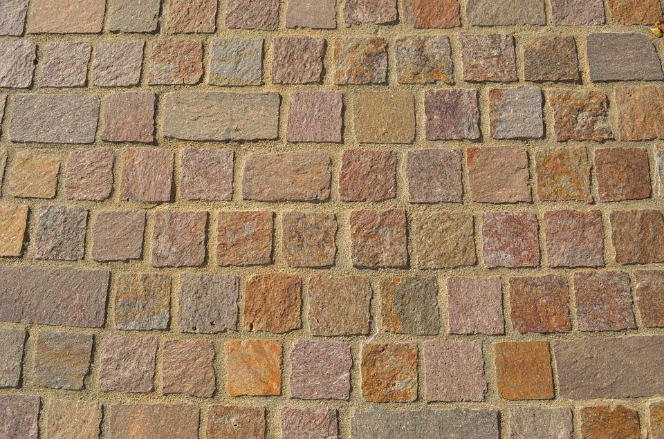 Paving Stone, Brick, Wall, Old, Aged, Texture, Block