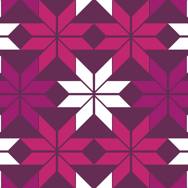 Pattern, Background, Texture, Aztec, Purple