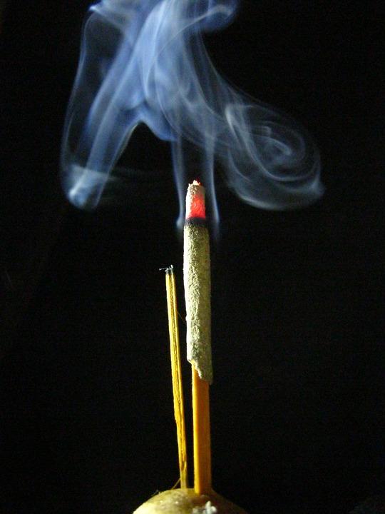 Smoke, Background, Prayer, Aroma, Texture, Wave