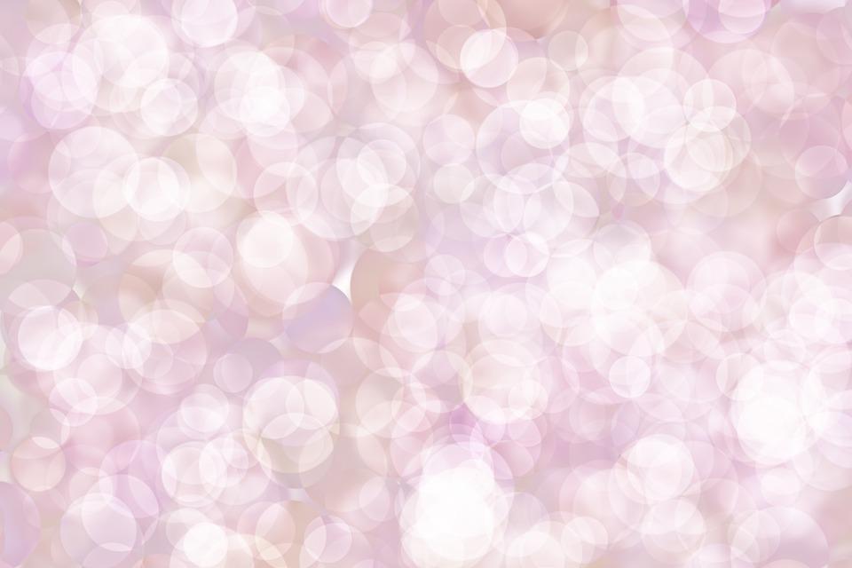 Bokeh, Bubbles, Circles, Shapes, Blur, Pink, Texture