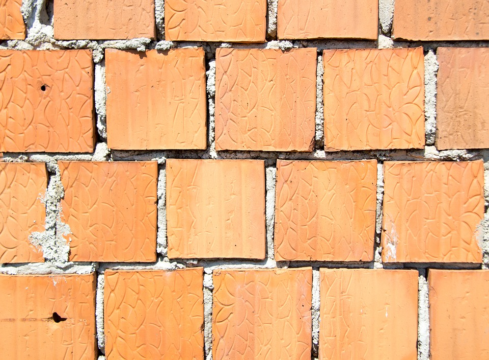 Brick Wall, Brick, Brickwork, Building, Texture