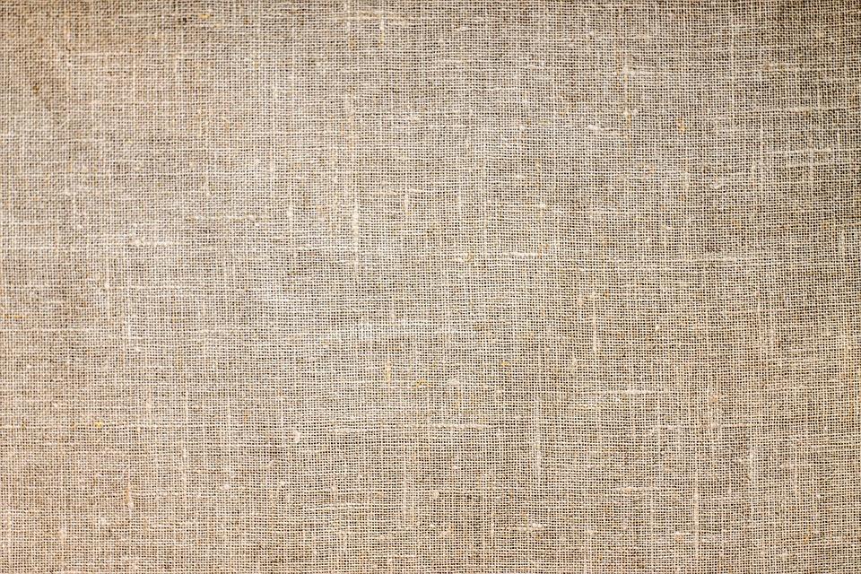 Textile, Jute, Brown, Fabric, Texture, Pattern
