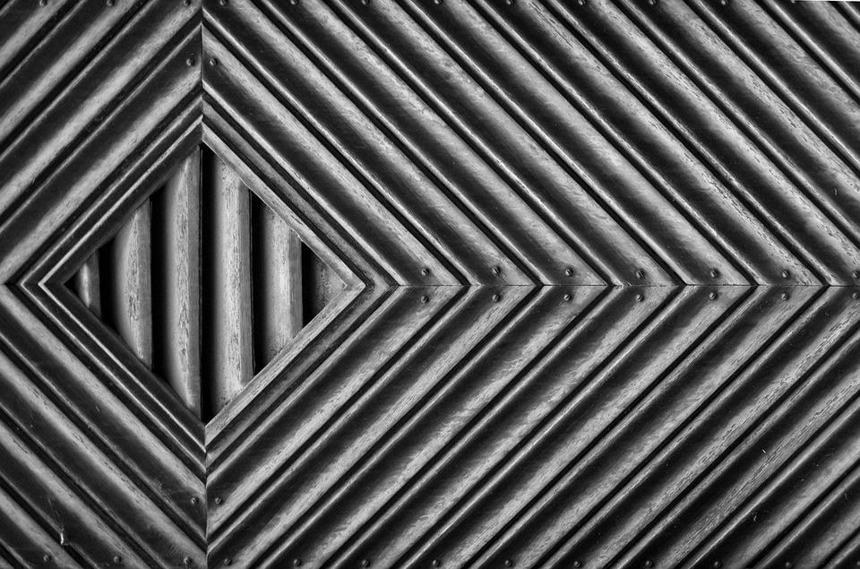 Texture, Black And White, Chevron, Frame, Borders, Wood