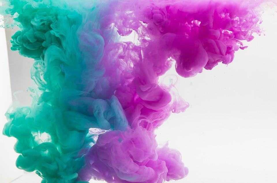 Paint, Water, Texture, Color, Bright, Multi Color