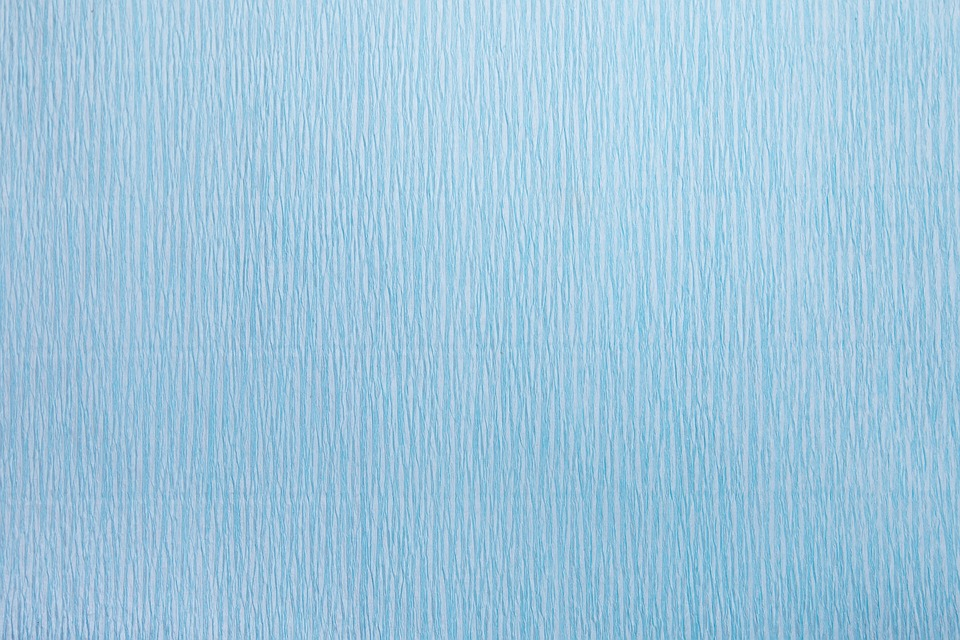 Texture, Corrugated Paper, Blue