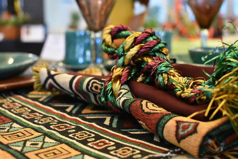 Tablecloth, Fabric, India, Textiles, Design, Texture