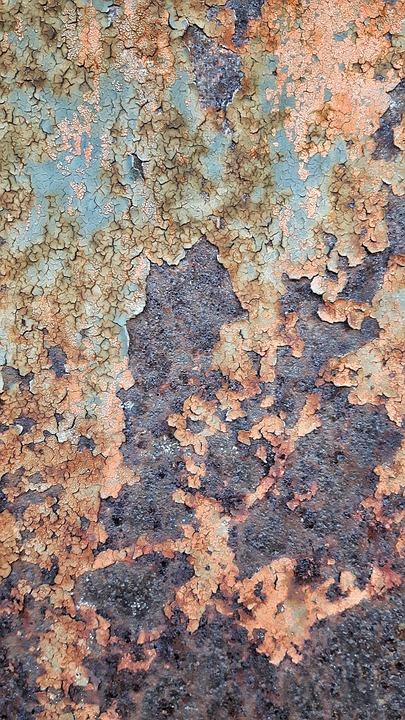 Iron, Rust, Texture, Paint, The Framework, Drawing