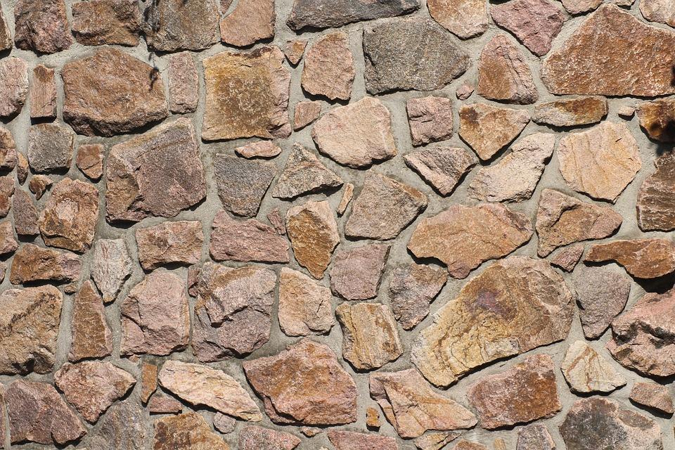 Stone, Lake Dusia, Stone Wall, Pattern, Texture, Wall