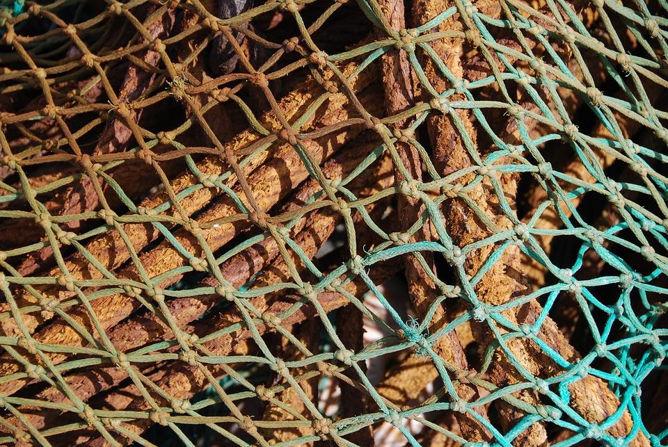 Rope, Net, Texture, Pattern, Nautical, Marine