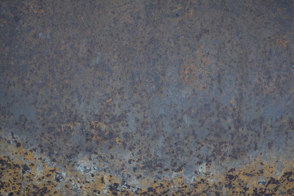 Steel, Rust, Grunge, Texture, Old, Metal, Industrial