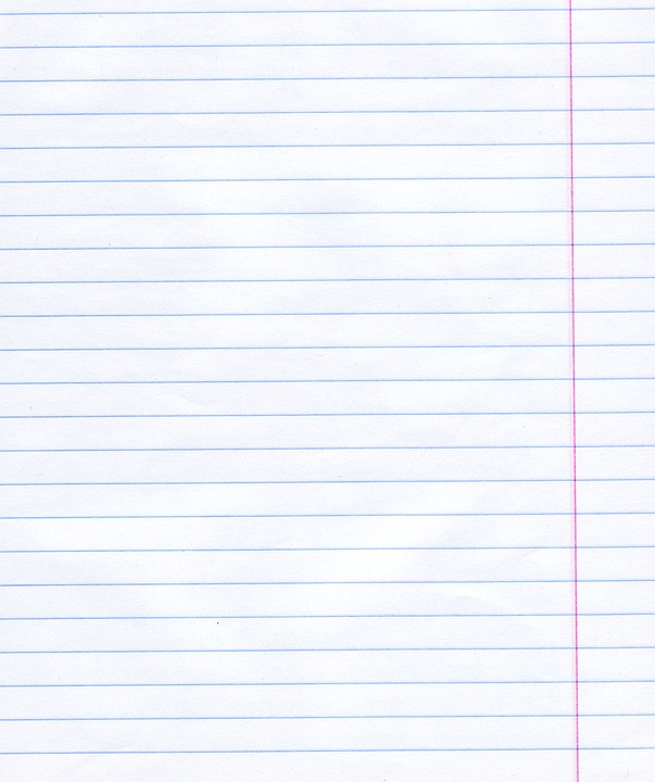 Free photo Note Notebook Lined Paper Sackcloth Max Pixel – Lined Page