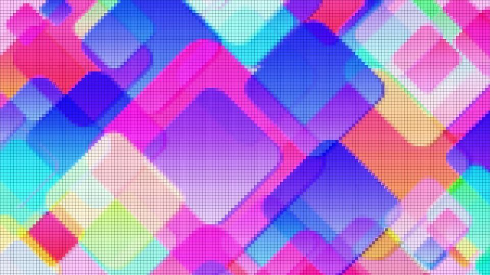 Texture, Material, Blue Squares, Purple Squares, Pastel