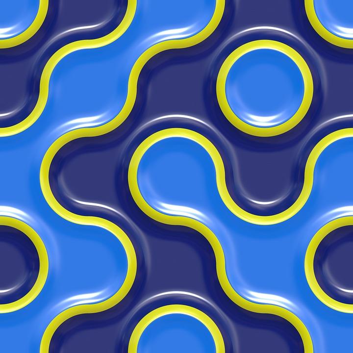 Pattern, Curve, Design, Seamless, Texture, Backdrop