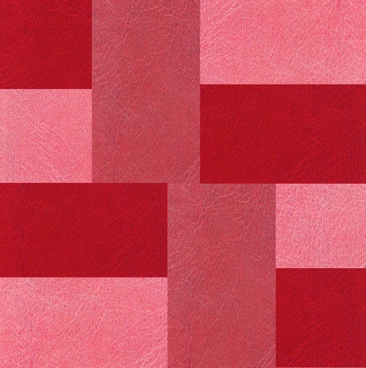 Leather, Texture, Red, Pink, Burgundy, Pattern, Design