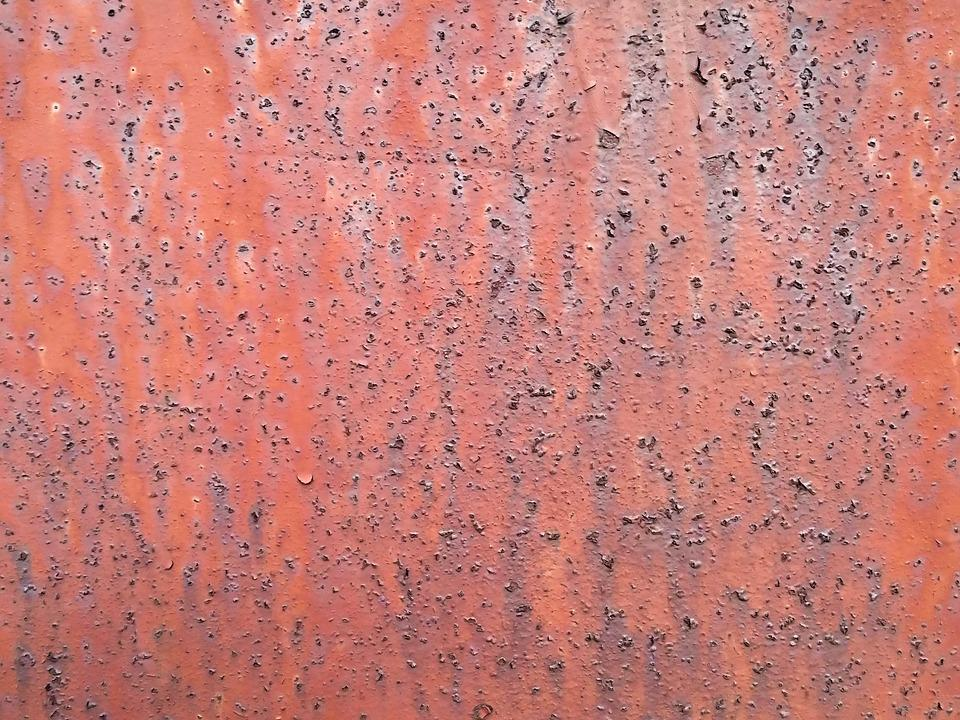 The Background, Rust, Red, Old, Texture