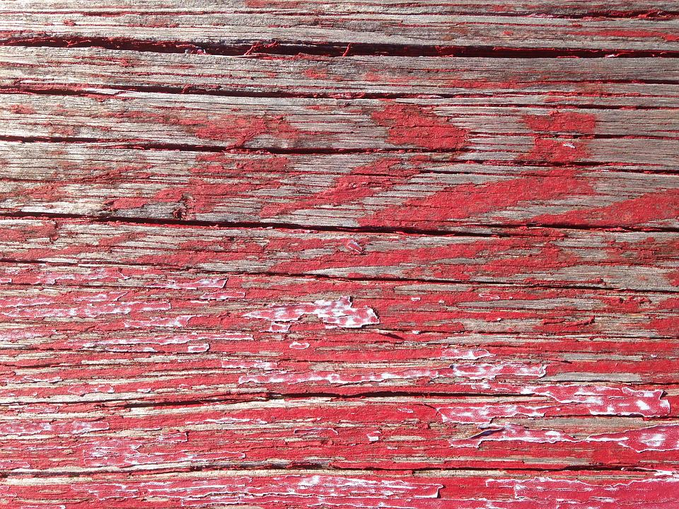 Wood Rustic Red Background Texture Rough