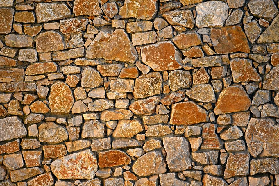 Stone Wall, Masonry, Seam, Rock, Natural, Texture