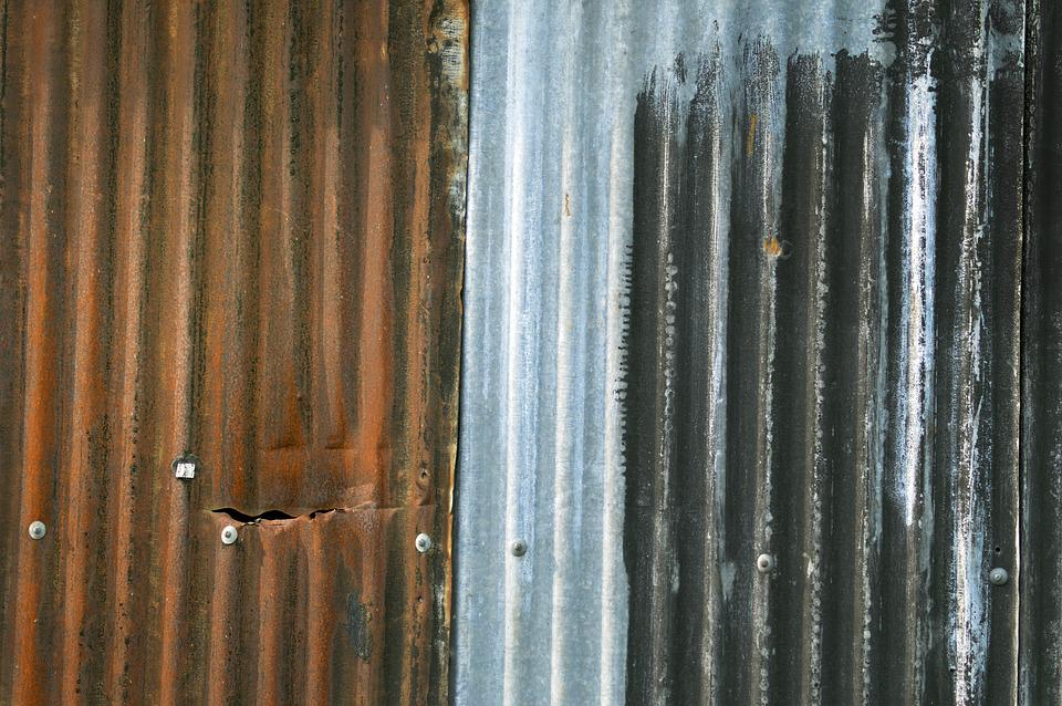 Sheet, Corrugated, Rust, Colors, Metal, Rusty, Texture