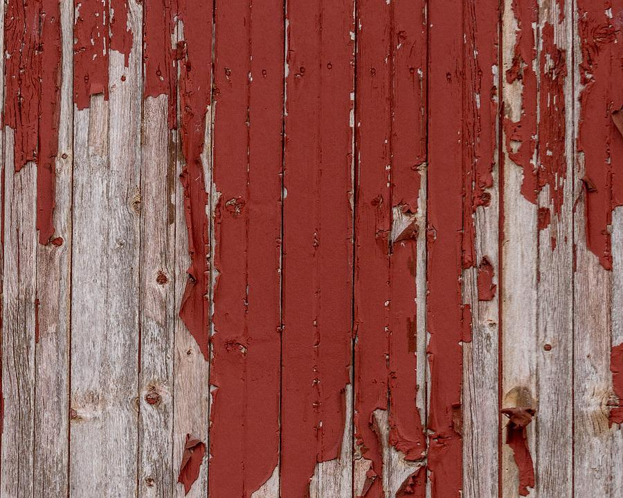 Barn Wood, Texture, Weathered, Peeling Paint, Rustic