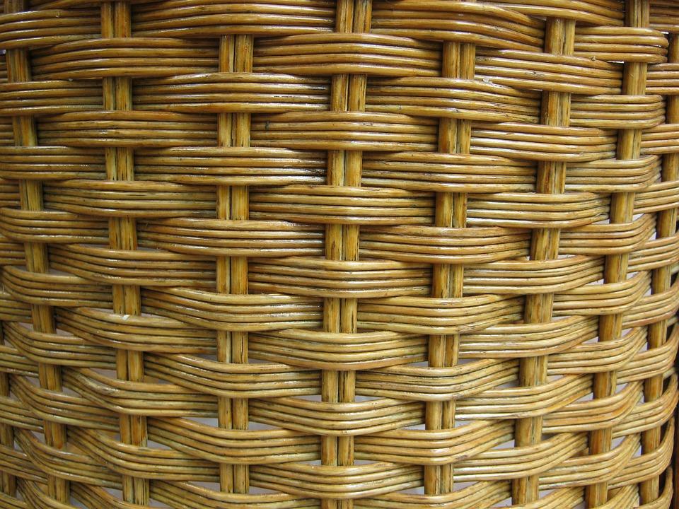 Braid, Pasture, Basket, Texture, Structure, Background