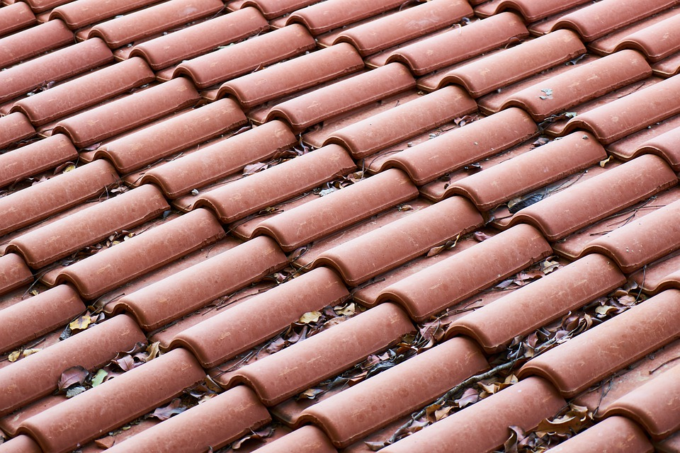 Roof, Tile, Brick, Red, Texture, Pattern, Abstract