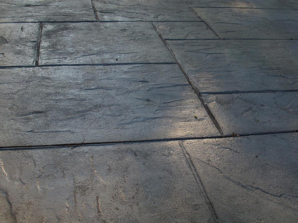Sidewalk, Patio, Concrete, Texture, Stone, Walkway