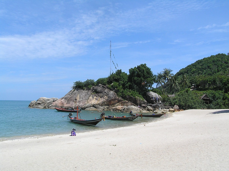 Boat, Thai, Beach, Thailand, Travel, Asia, Tropical