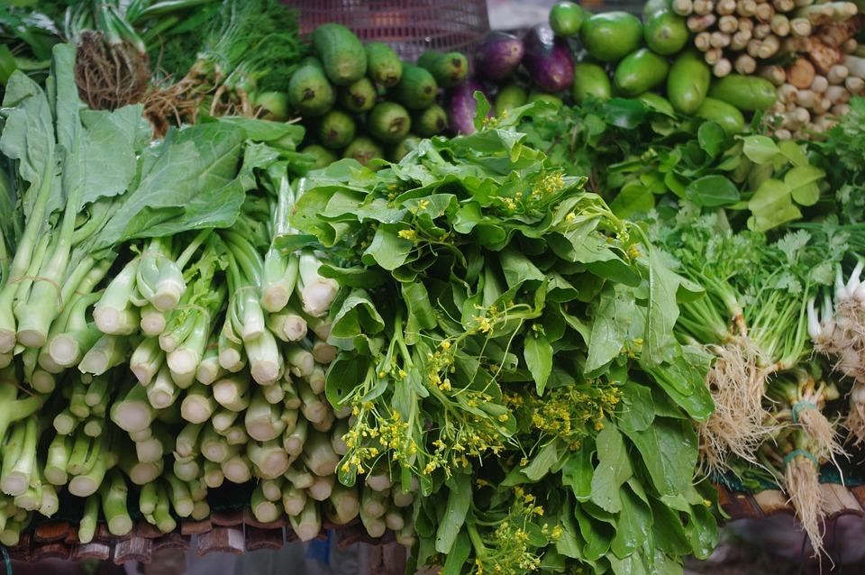 Thailand-market, Thai Vegetables, Thai Kitchen