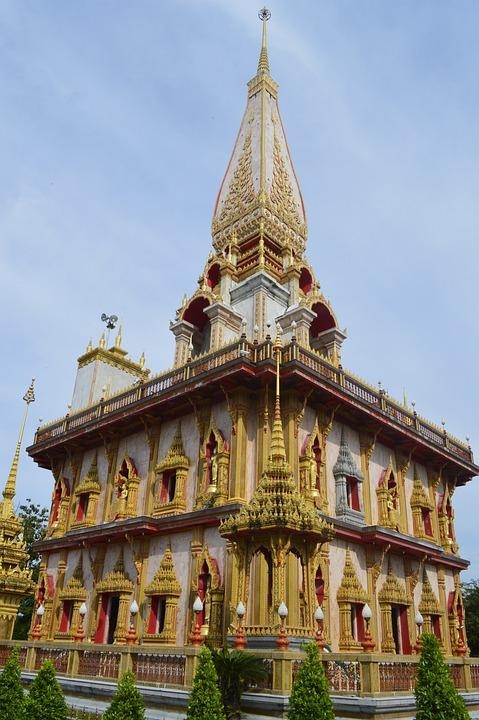 Buddha, Phuket, Thai, Thailand, Temple, Religion