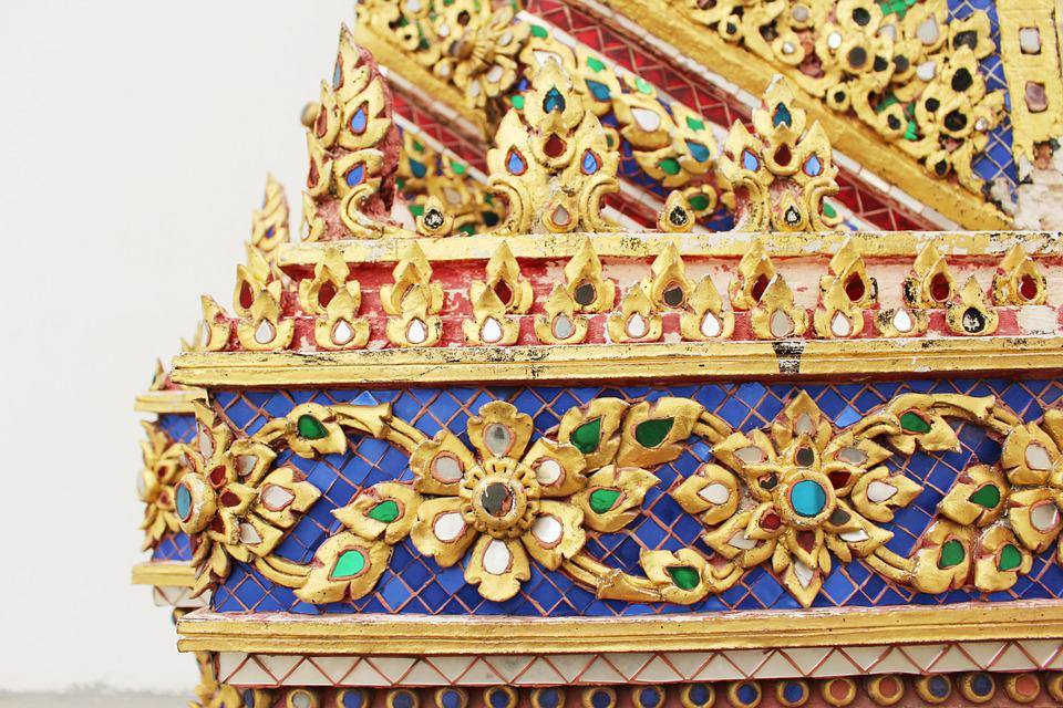 Thailand Stripes, Thai Temple, Thailand, Thai, Asian