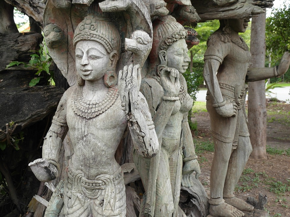 Statues, Thailand, Asia