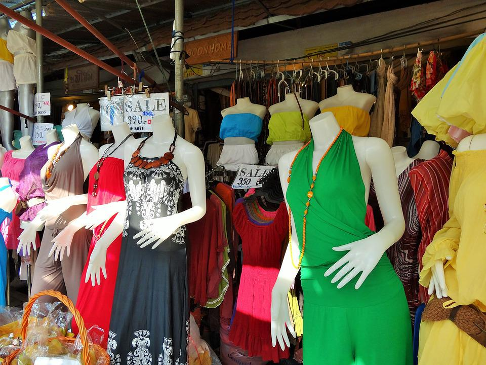 Bangkok, Market, Fashion, Thailand