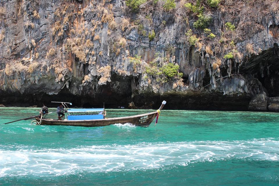 Boat, Krabi, Thailand