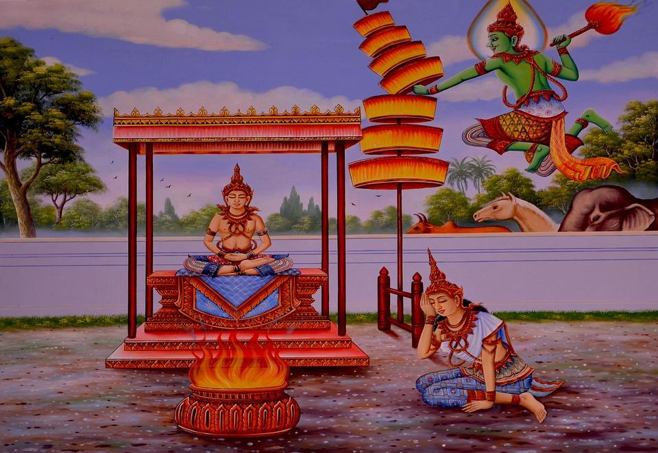 Enlightenment, Buddha, Thailand, Peace, Love, Religion