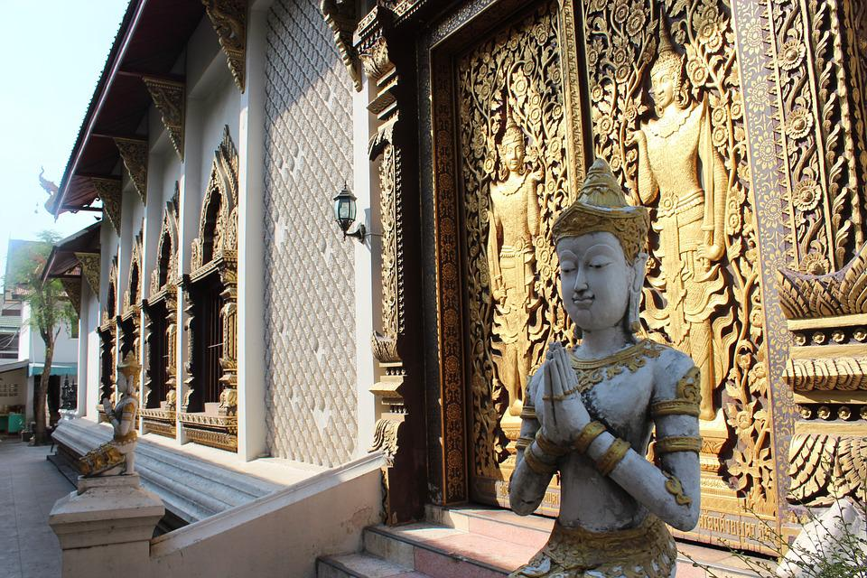 Thailand, Temple, Thai, Buddhism, Wat, Asia, Religion