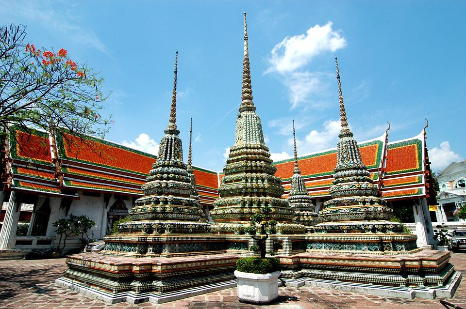 Thailand, Temple, Buddhism, Religion, Tourism, Wat