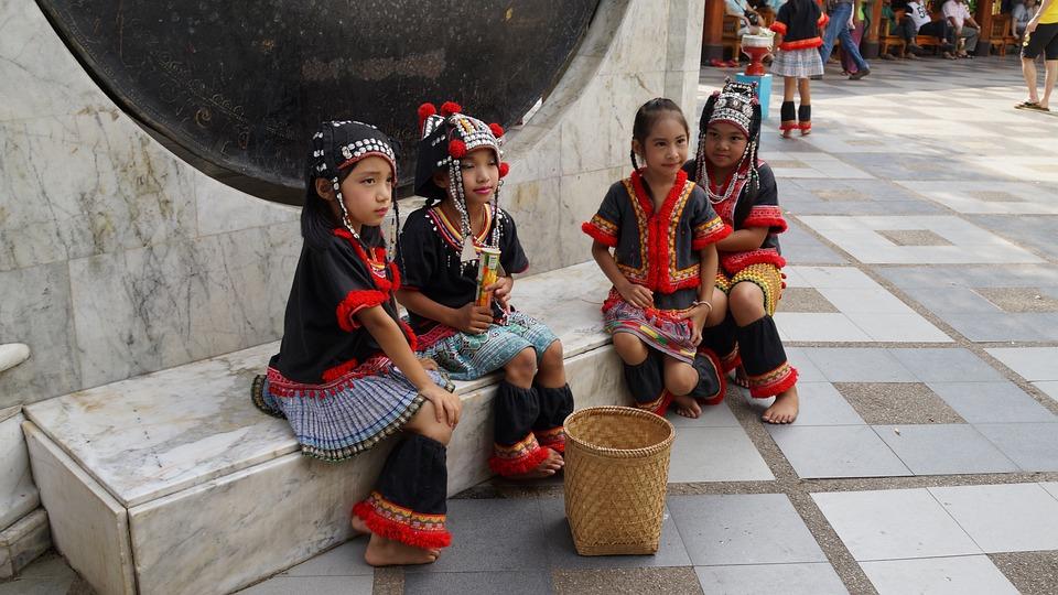 Tribal, Chiang Mai Thailand, Thailand, Culture, Lady