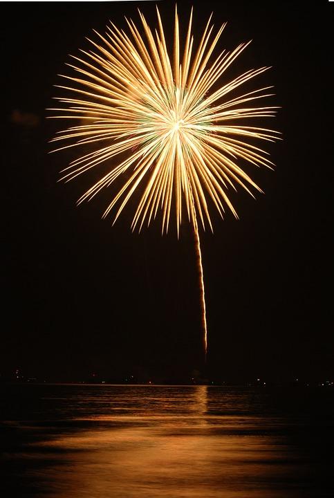 Firework, Festival, Thailand, Celebration, Festive