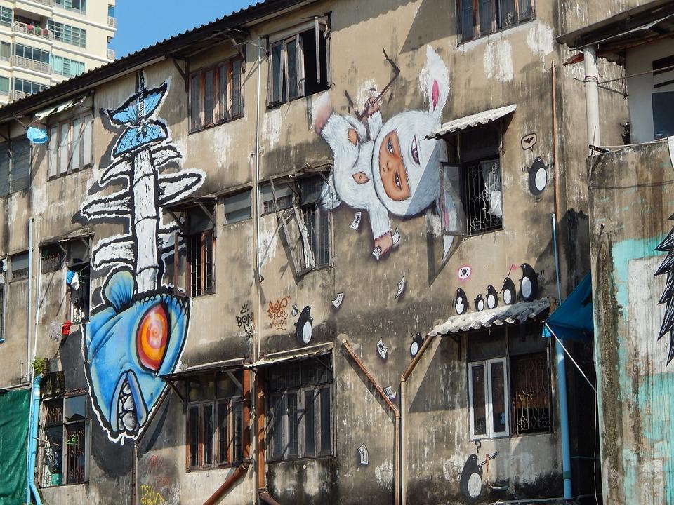 Graffiti, Bangkok, Thailand