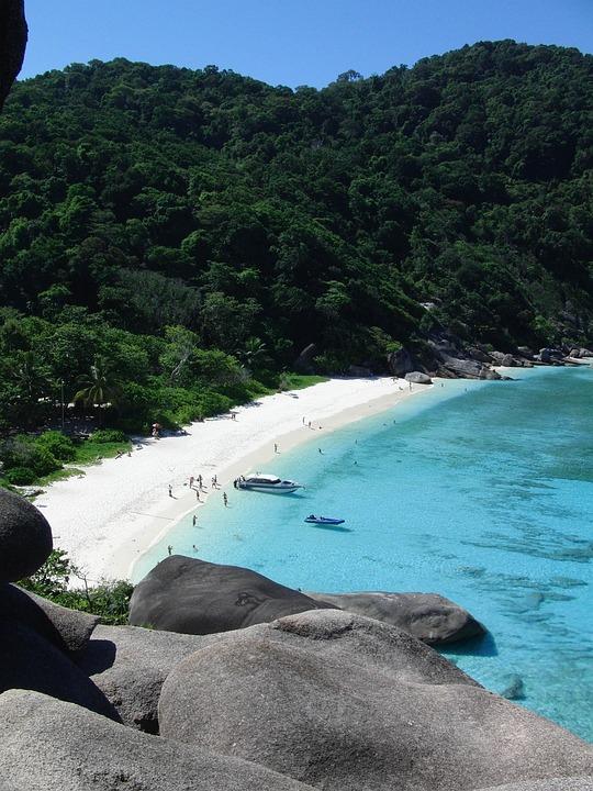 Thailand, Donald Duck Bay, Island, Beach
