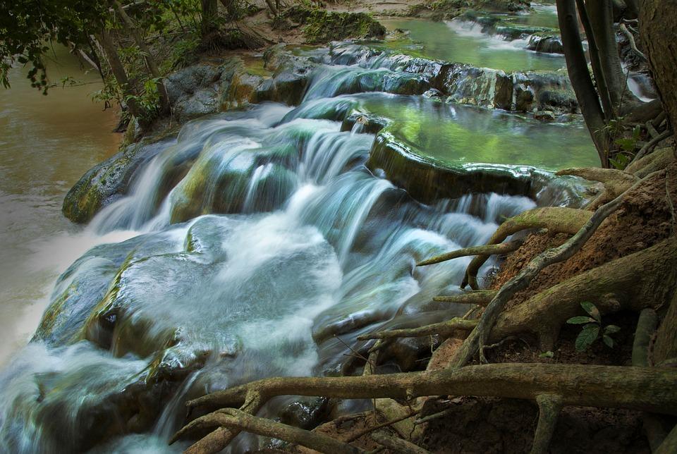 Waterfall, Thailand, Nature