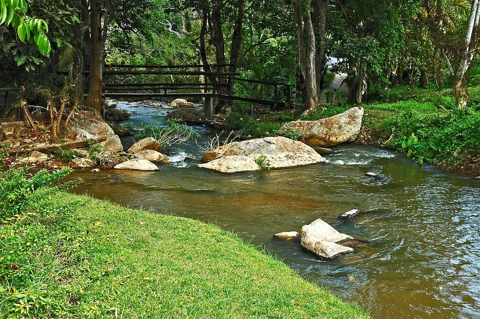 River Landscape, Samoeng, Thailand