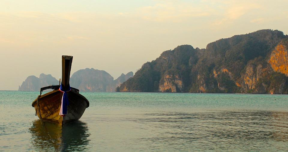 Thailand, See, Travel, Boat