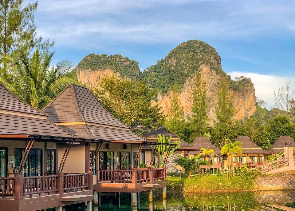 Krabi, Thailand, Sky, Nature, Summer, The Tropical