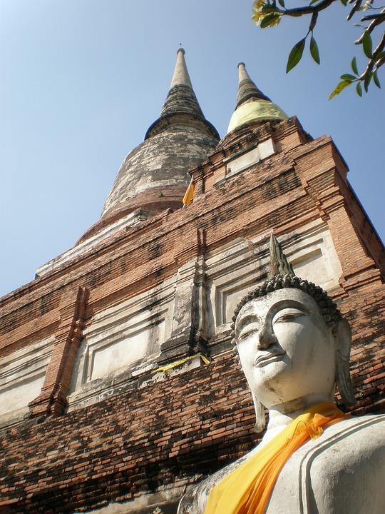 Buddha, Temple, Thailand