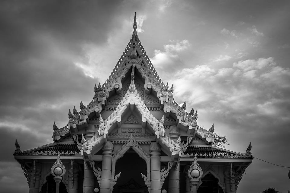 Krabi, Temple, Thailand, Summer, Buddha, Tajandia