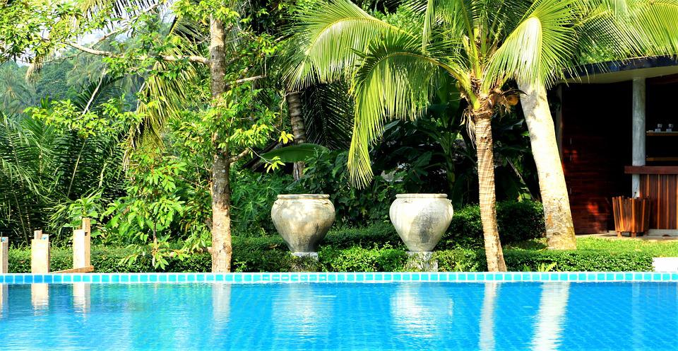 Resort, Ranong, Thailand, Travel, Pool