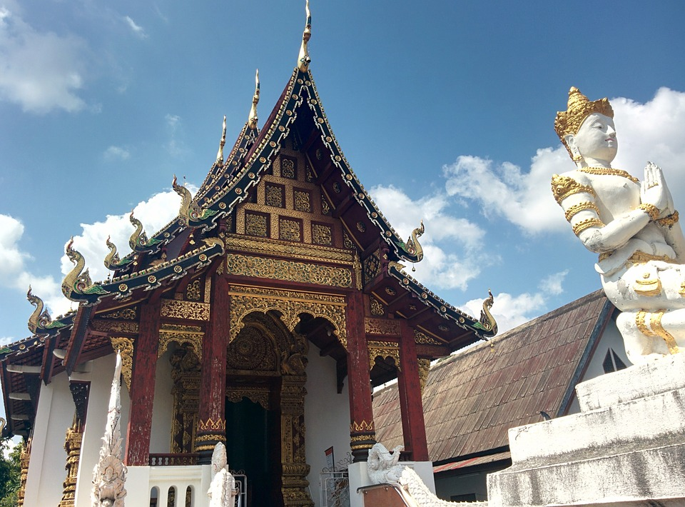 Temple, Thailand, Wat, Travel, Buddhism, Culture